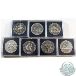 1981-1989 Canada Brilliant Uncirculated Dollar Collection. You will receive 1981, 1982, 1983, 1985,
