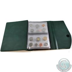 1976-2009 Canada Uncirculated Coin Set Collection in RCM collector album. You will receive 1976, 200