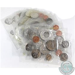 1962-1979 Canada Uncirculated Coin Set Collection. You will receive 1962, 1963, 1965, 1967, 1968, 19