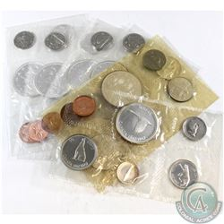 1962-1967 Canada Uncirculated Coin Set Collection. You will receive each date between 1962 and 1967.