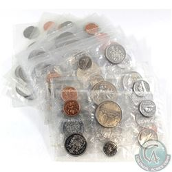 1968-1988 Canada Uncirculated Coin Set Collection. You will receive 1968, 1970-1986, and 1988. 19set