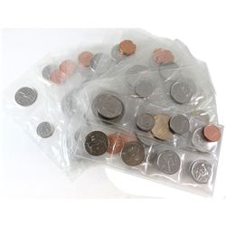 1974-2007 Canada Uncirculated Coin Set Collection. You will receive 4x 1974, 3x 1975, 2x 1977, 1979,