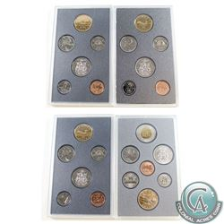 1988-1997 Canada Specimen sets. You will receive 1988, 1992, 1993, and 1997. Coins come in the hard
