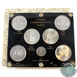 1935-1967 Canada Commemorative Coin Collection in Capital Plastics Presentation holder. You will rec