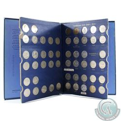 Estate lot of 1922-1964 Canada 5-cent Collection in Vintage Whitman Folder. You will receive one of