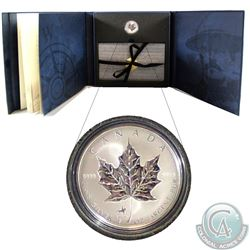 1998 Royal Canadian Mounted Police (RCMP) Privy Mark 1oz. Fine Silver Maple Leaf Set (TAX Exempt)