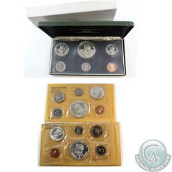 1966, 1968, 1974 Panama Proof Set Collection. Sets come with Original packaging and COA's. 3pcs.