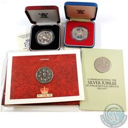 1977 & 1993 United Kingdom Commemorative Crown Collection. You will receive: 2x 1977 Crowns Commemor