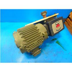 Grove Gear Ironman Gear Reducer W/3 Phase Motor