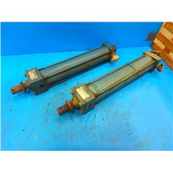 (2) REXROTH MP1-PP CYLINDERS