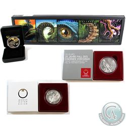Australia; Perth Mint 2015 1 oz. Fine Silver 5-Coin Subscription Set in mint box with clear sleeve -