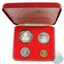 Malta; 1965 Quadricentennial 4-coin Proof Set - Order of Saint John of Jerusalem. Coins come in the