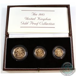 United Kingdom; Royal Mint 1983 Limited Edition Gold Proof Collection. You will receive the Two Poun