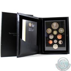 United Kingdom; Royal Mint 2012 United Kingdom 10-coin Proof Set. Coins come housed in all original