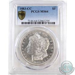 USA 1883CC Silver $1 PCGS Certified MS-64