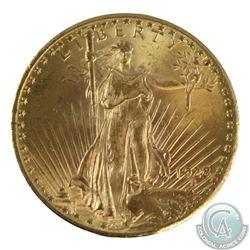USA 1928 $20 Gold Saint-Gaudens Double Eagle UNC+