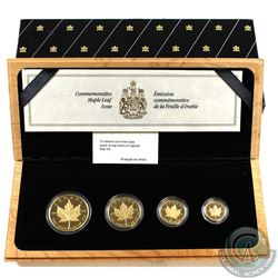 Canada: 1979-1989 Proof Gold Maple Leaf Collection (Tax Exempt). This proof collection includes the
