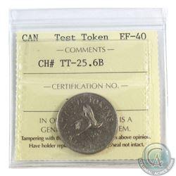 Ch # TT-25.6B ICCS Certified EF-40