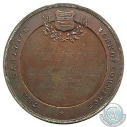 1901 Canadian Bank of commerce Agricultural Award Medal, awarded to John Hoggard Ranelagh for best p