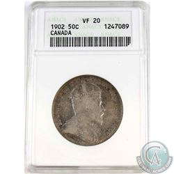 50-cent 1902 ANACS Certified VF-20.