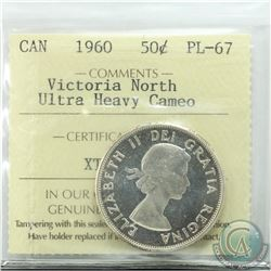 50-cent 1960 Victoria North ICCS Certified PL-67 Ultra Heavy Cameo
