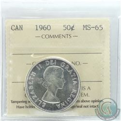 50-cent 1960 ICCS Certified MS-65