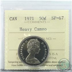 50-cent 1971 ICCS Certified SP-67 Heavy Cameo