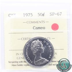 50-cent 1975 ICCS Certified SP-67 Cameo