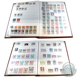 Stamps; Austria 1850-1980's Large Estate Lot of Stamps housed in 2 Uni-Safe books. You will receive