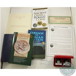 "Bulk Lot; (4 books, 1 catalogue): ""Coinage in Roman Britain"", ""The Official Whitman Guidebook: Handb"