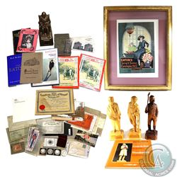 Bulk Lot; Large lot of historic items, including a T. Eaton Co. Limited Canada big lot - Non-T. Eato