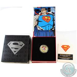 RCM Issue; 2013 Canada $75 Superman: The Early Years 14K Gold Coin.
