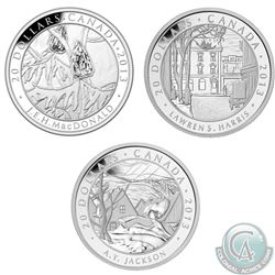 RCM Issue; 2013 $20 Group of Seven Fine Silver Coins (Tax Exempt). You will receive Lawren S. Harris