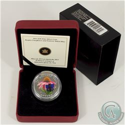 RCM Issue; 2013 Canada $20 Purple Coneflower & Eastern Tailed Blue Butterfly (Tax Exempt).