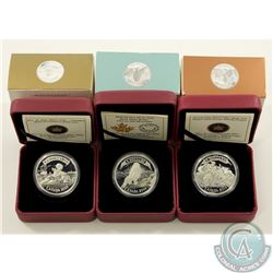 RCM Issue; 2013-2014 $5 Bank Note Design Fine Silver Coin collection (Tax Exempt). You will receive