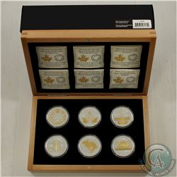 RCM Issue; 2015 Legacy of the Nickel 6-Coin Set in Deluxe Box (Tax Exempt). Please note capsules con