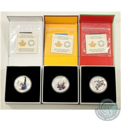 RCM Issue; 2015 $20 Iconic Superman Fine Silver Coin Collection (Tax Exempt). You will receive the A