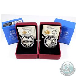 RCM Issue; 2015 $20 Unesco At Home Fine Silver Coins (Tax Exempt). You will receive the Wood Buffalo