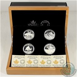 RCM Issue; 2015 Canada $20 Complete American Sportfish 4-Coin Set & Deluxe Case (Tax Exempt).