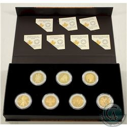 RCM Issue; Complete 2015 $20 Seven Sacred Teachings 7-coin set with Deluxe Box & COA's (Tax Exempt).