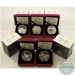 RCM Issue; 2015-2017 $20 WWI Battlefront Series Fine Silver Coin Collection (Tax Exempt). You will r