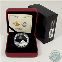 RCM Issue; 2016 Canada $20 The Universe Fine Silver Coin (Tax Exempt).