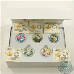 RCM Issue; 2017 $10 Birds Among Nature's Colours 4-coin Silver Set with Deluxe Box (Tax Exempt).