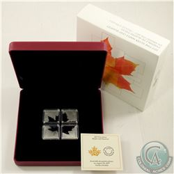 RCM Issue; 2017 $3 Maple Leaf Quartet 1oz. Fine Silver Set (Tax Exempt).