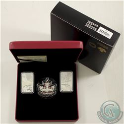 RCM Issue; 2018 Beneath thy Shining Skies Fine Silver 3-Coin Set (Tax Exempt).