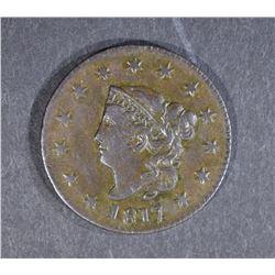 1817 LARGE CENT, AU