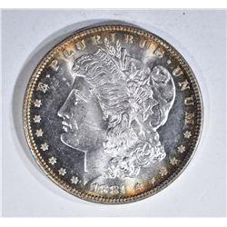 1881 MORGAN DOLLAR, GEM BU BLAZER!!