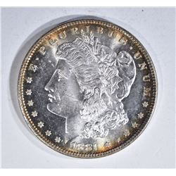 1881 MORGAN DOLLAR, GEM BU BLAZER!!