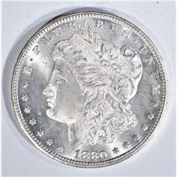 1880-CC MORGAN DOLLAR, GEM BU+ BLAZER!!
