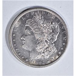 1892-S MORGAN DOLLAR, AU KEY DATE!